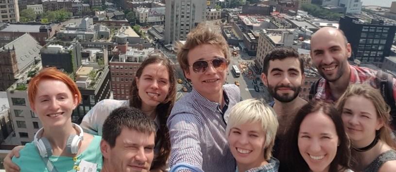 Razom IT Trip participants in NYC
