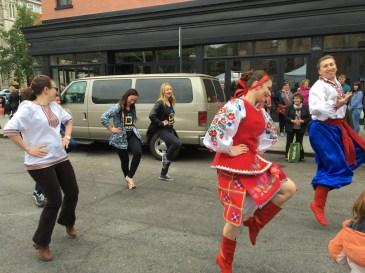 gor Melnyk and Angelina Boyko teach us how to dance