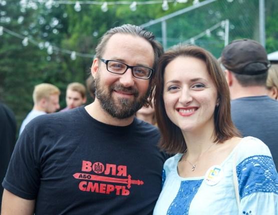 Damian Kolodiy and Anastasiia Rybytska at Soyuzivka Festival 2016