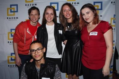 Ink Hunter team with Mariya Soroka and Natalia Shyrba