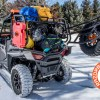 Camping gear loaded on Polaris RZR 900 Expedition Rack Jim Todd