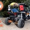 Camping Gear with Polaris RZR Rack