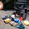 Polaris RZR Cargo Rack Camping Gear
