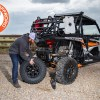 Ultimate Gun Rack and Grab Hanlde Lug Wrench for UTV and Side by Side