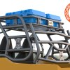 Render of Cargo and Storage GP Rack for the Polaris General 1000