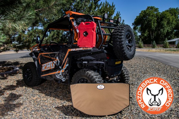 Padded Ruff Rider Pet Pad Heat Shield Dog Bed for UTV and Side by Side