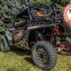 Polaris RZR 900 with the It Fits Universal Mount and RBO Rack