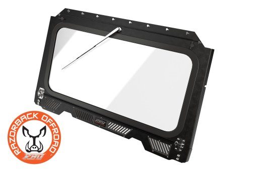 Front folding glass windshield for Polaris RZR 900 and 1000 UTV and Side by Side