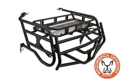 Polaris 1000 4-Seater Expedition Cargo Rack Powdercoat-Black Accessories for UTV and Side by Side