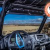 Interior Polaris Ranger Glass Windshield