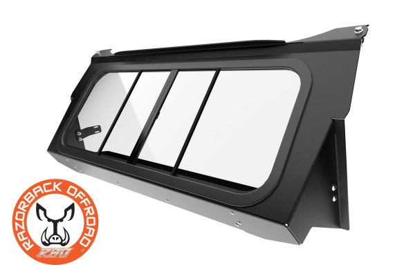 Glass rear window for the Can-Am Maverick UTV and Side by Side