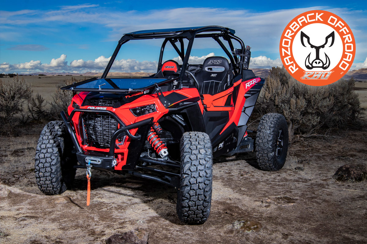 2018-2019 Polaris RZR XP® Turbo S Folding Front Windshield