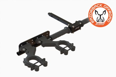 Hunting Gun and Rifle Mount Rack for RZR UTV and Side by Sides