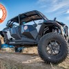 4 seater Polaris Turbo S custom build with roof and console accessory add-ons