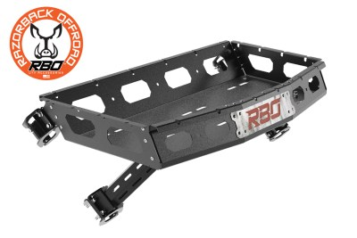 CAD image of Polaris Turbo S UTV Cargo rack