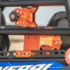 Polaris General Spare Tire Mount Shown with rotopax mount