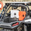 Rotopax Roll Bar Mount with Trail Emergency Kit and Water Jug on Turbo S RBO1077