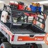 Razorback Offroad Bobcat Utility Cargo Rack with farming tools