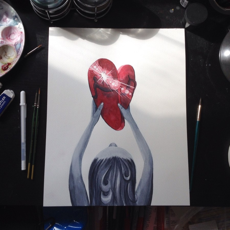 BrokenFlipFlop-painting