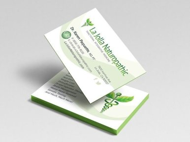 La Jolla Naturopathic Business Cards