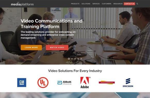 MediaPlatform New Site Home Page