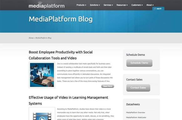 MediaPlatform Previous Site Blog Archive