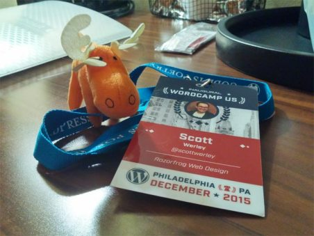 WordCamp US 2015 Badge