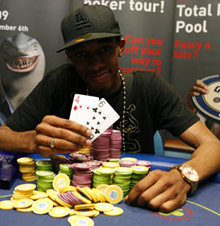 GUKPT Walsall leg winner Vincent Price. Image courtesy of the GUKPT/BlueSquare