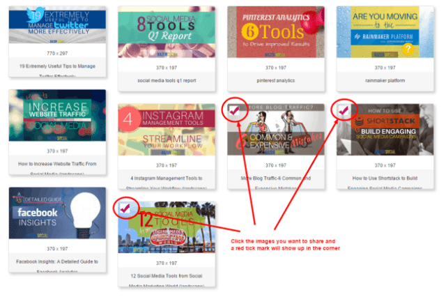 Use the Viraltag bookmarklet to make image-sharing easier: How to Use ViralTag For Visual Content Promotion