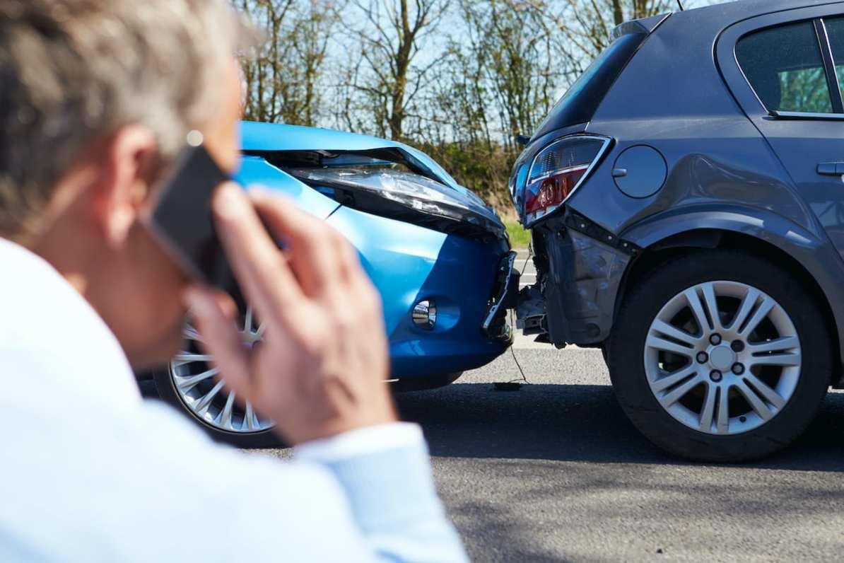 Accidentul ușor cu mașina