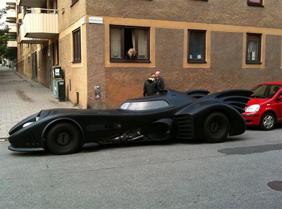 Batmobile. O replica excelenta