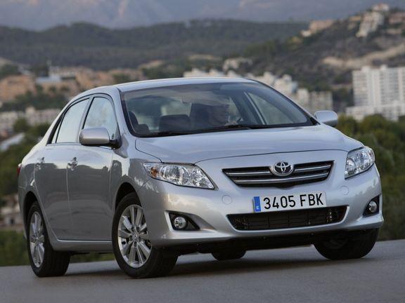 Toyota Corolla, pentru fecioara din tine