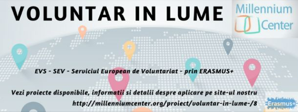 Voluntar in lume - voluntariat