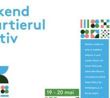 weekend in cartierul creativ program