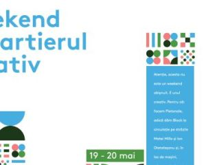 weekend in cartierul creativ program