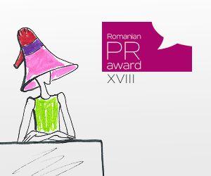 banner Romanian PR Award, editia a 18-a