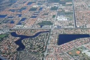 Miami vazut din avion