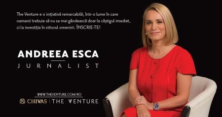 Andreea Esca The Venture