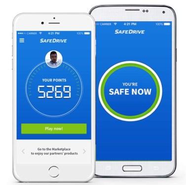 2SafeDrive_aplicatie