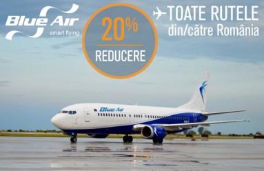 Blue Air - reducere 20