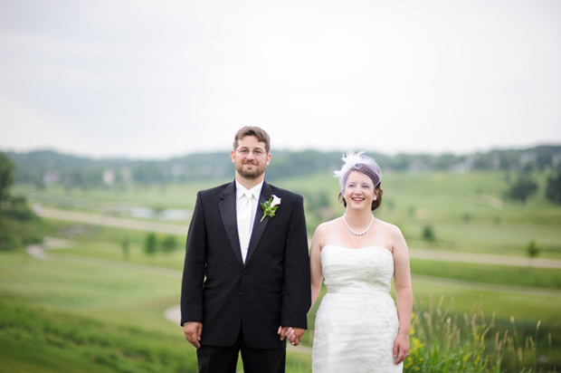 wedding photos at brown deer country club