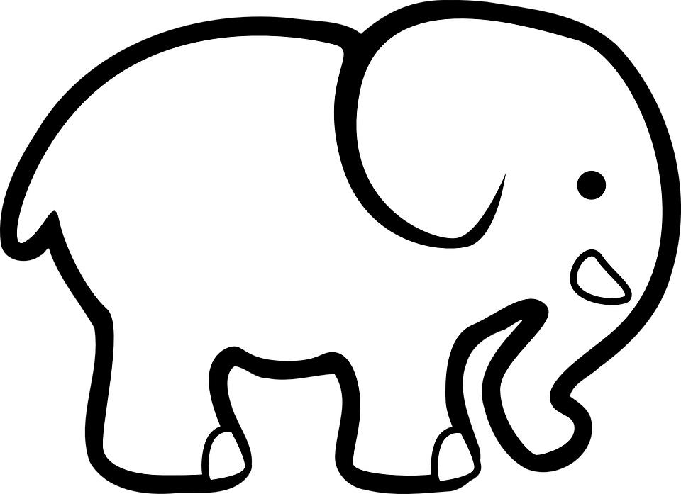 Szitáló elefánt