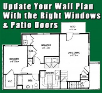 Update Wall Plan with Replacement Windows