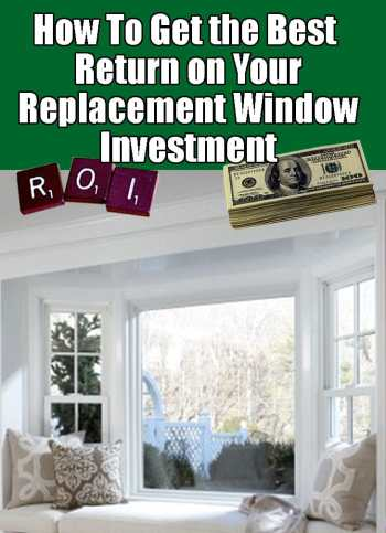 Long Island Replacement Windows Return on Investment