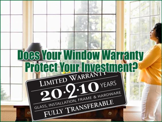 Long Island Replacement Window Warranty Investment