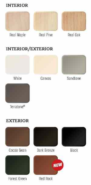 Long Island Replacement Window Color Choices