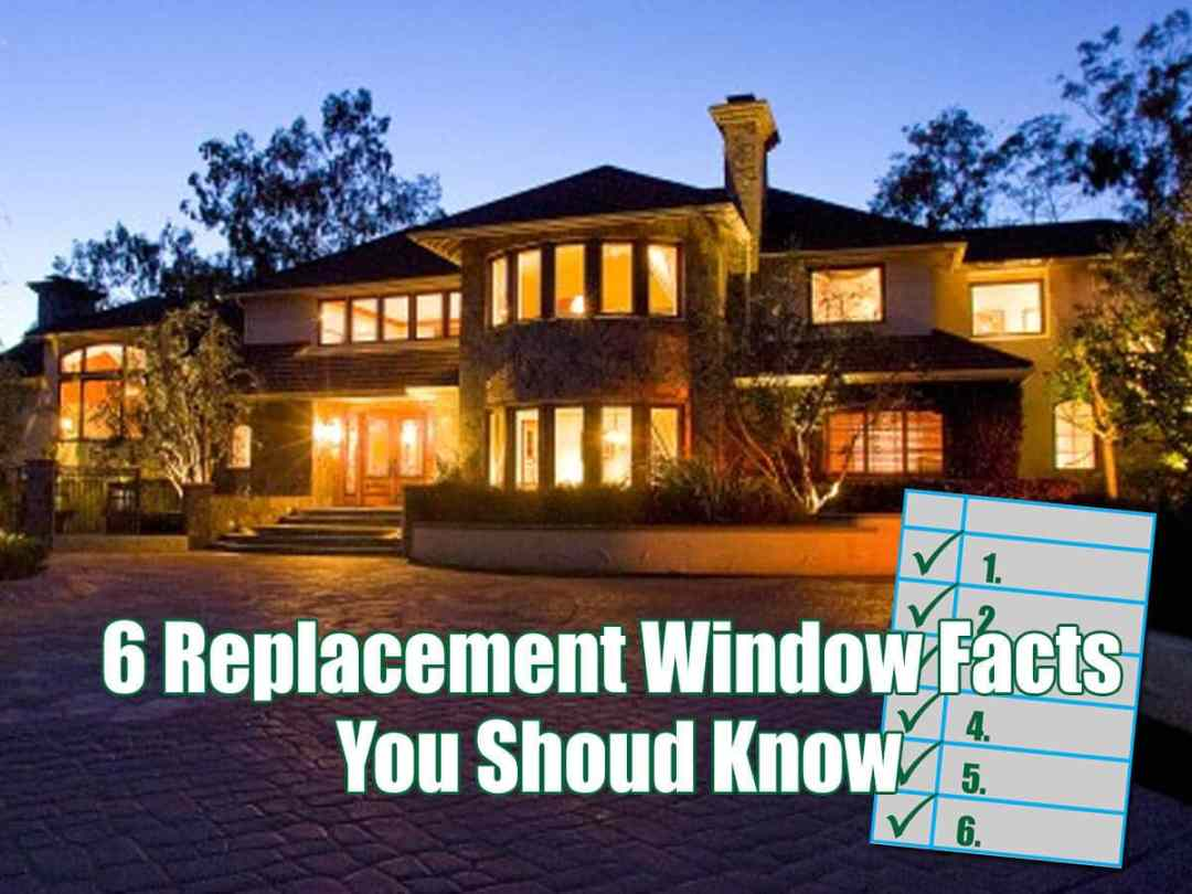 Long Island Replacement Windows Facts