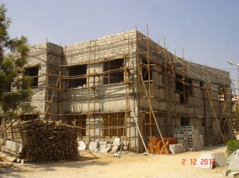 Construction at our Mysore campus