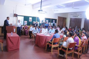 US Ambassador interacting with MDM Students