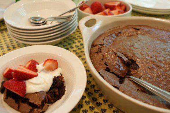 Jack Daniel's Fudge Brownie Pudding